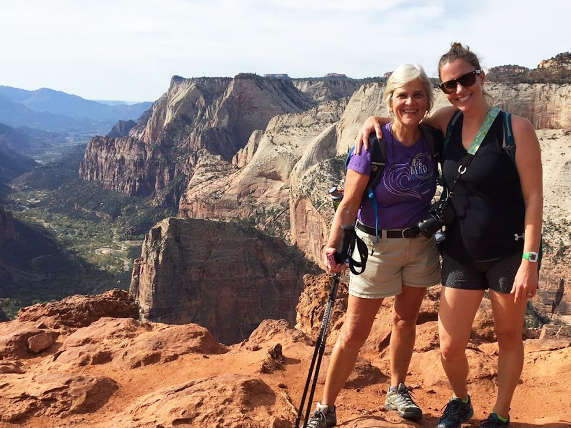 Hikers in Grand Canyon National Park
